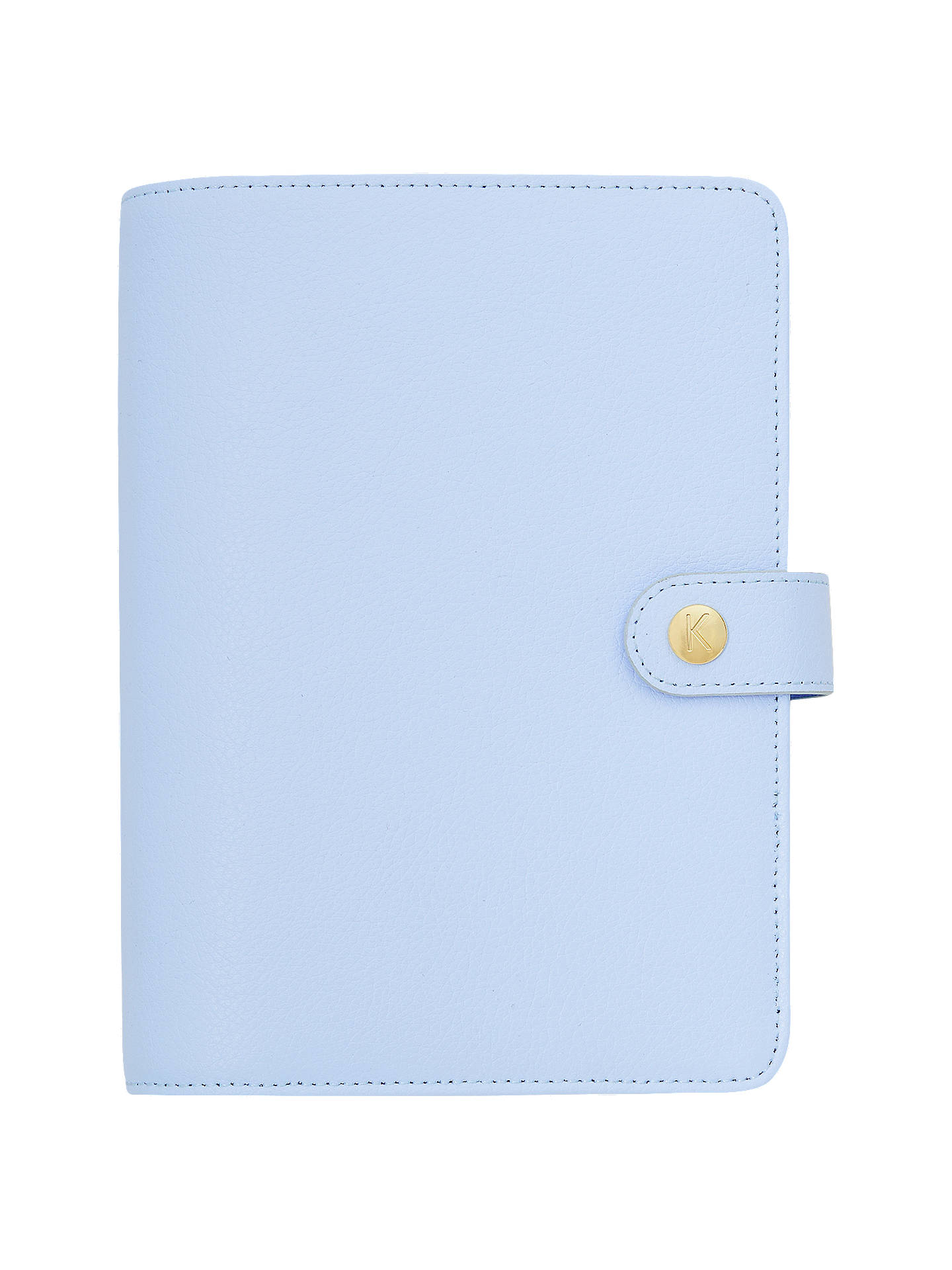 kikki k medium leather personal planner at john lewis partners