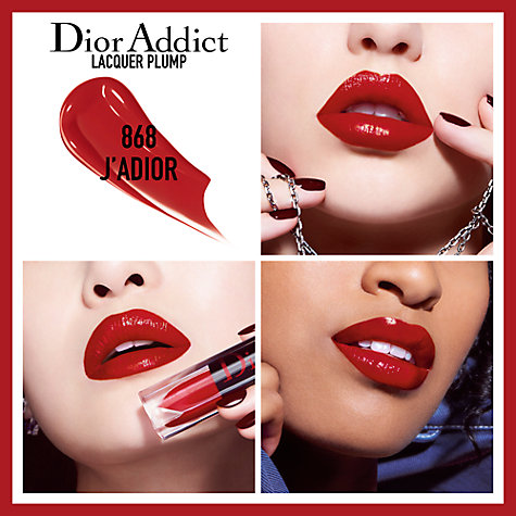 Buy Dior Addict Lacquer Pump Lipstick Online at johnlewis.com