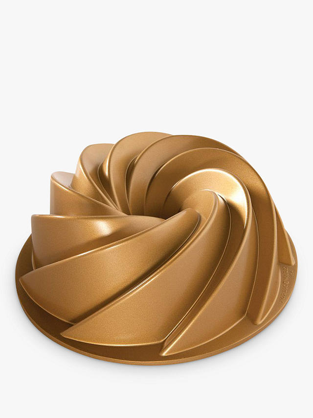 Buy Nordic Ware Non-Stick Heritage Bundt Pan, Gold Online at johnlewis.com