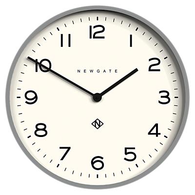 Newgate Number One Echo Wall Clock, 53cm, Grey