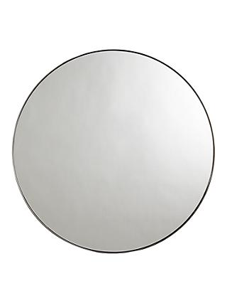 John Lewis & Partners Cliffe Large Round Mirror, Dia.92cm