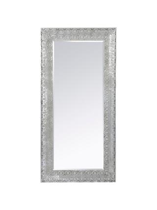 Libra Filigree Large Leaner Mirror, Dark Grey, 165 x 80cm