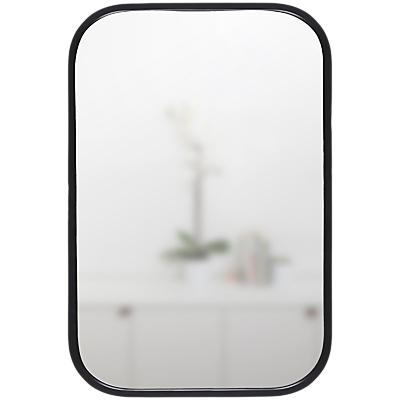 Umbra Rounded Corners Mirror, H93cm, Black