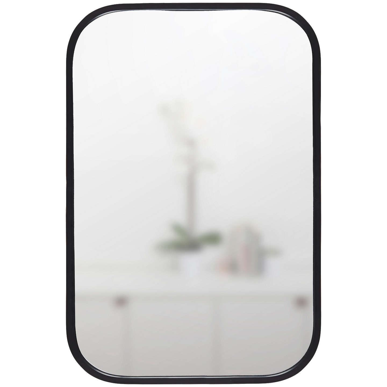 Umbra Rounded Corners Mirror H93cm Black At Johnlewis Com