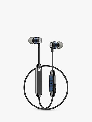 Sennheiser CX 6.00BT Wireless Bluetooth In-Ear Headphones with Mic/Remote, Black