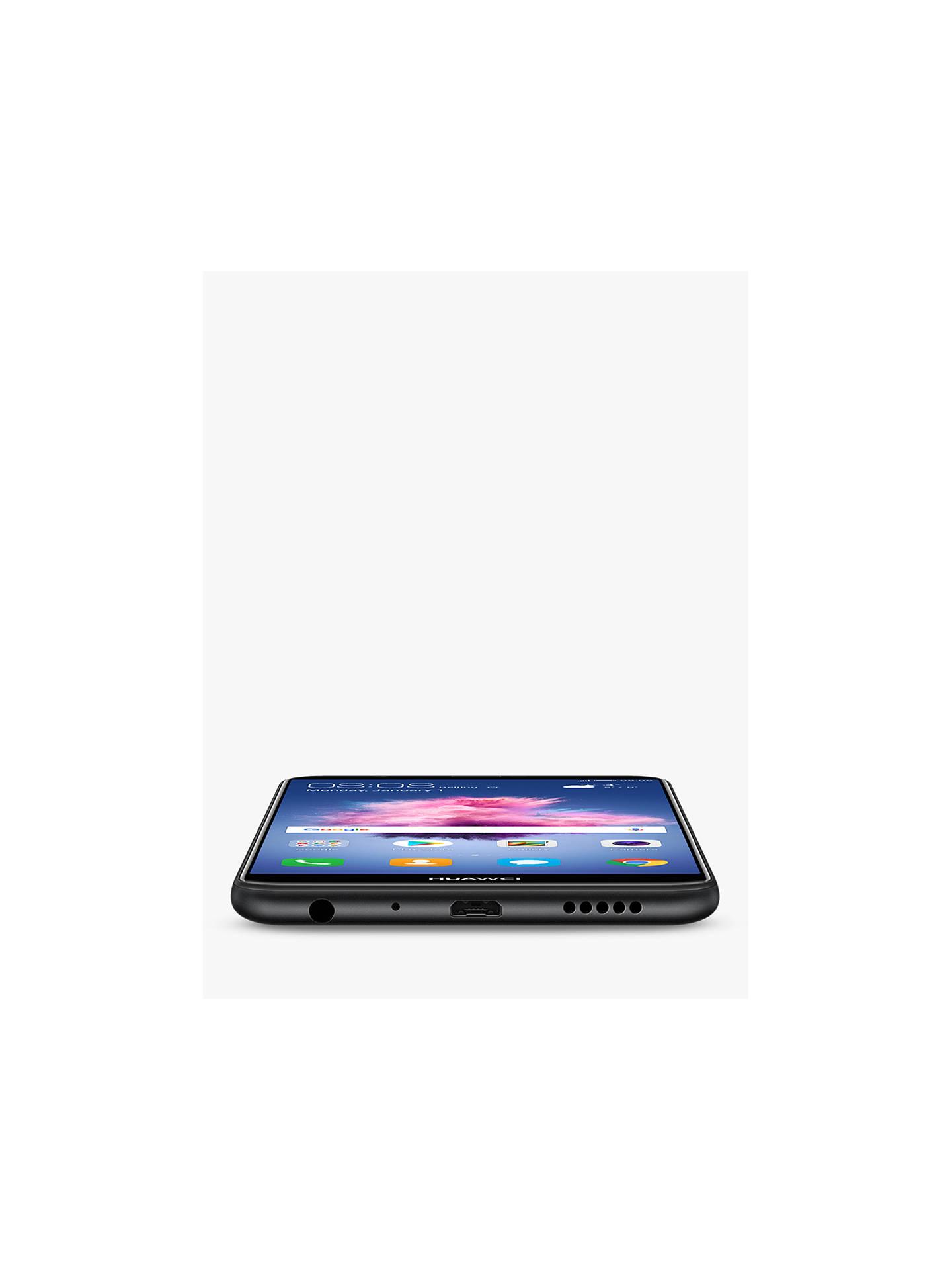 "Huawei P Smart Smartphone, Android, 5 65"", 4G LTE, SIM Free, 32GB, Black"