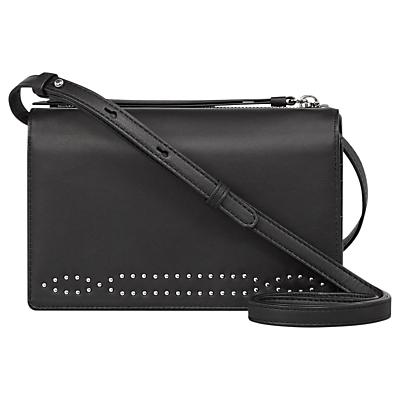 AllSaints Billie Wallet Cross Body Bag, Black