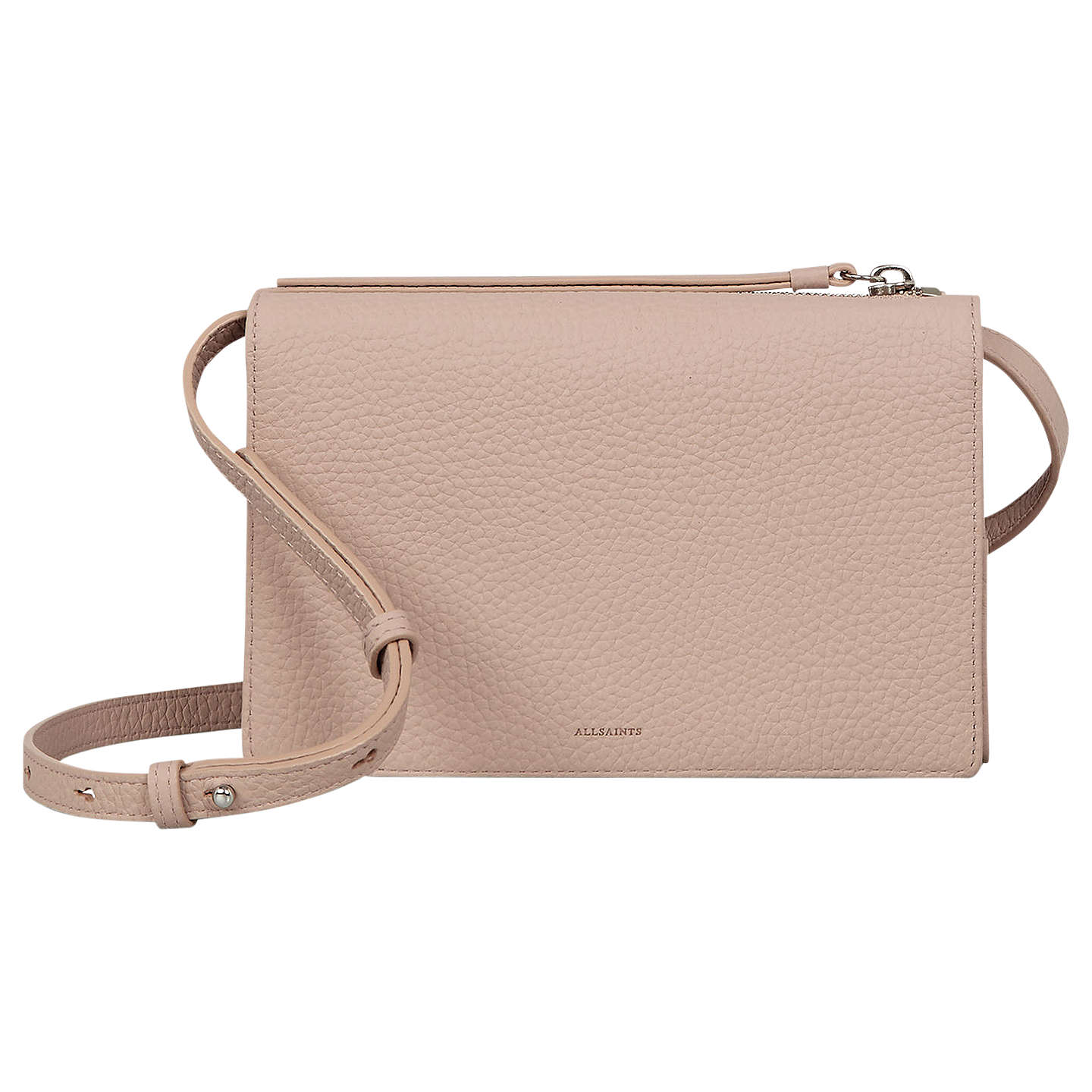 Allsaints Fetch Wallet Crossbody (Blush/Pink) Cross Body Handbags u7ZFHsczv