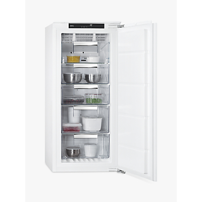 AEG ABB8121VNF Integrated Freezer, A+ Energy Rating, 56cm Wide, White