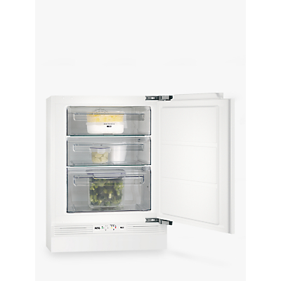 AEG ABE6821VNF Undercounter Freezer, A+ Energy Rating, 60cm Wide, White