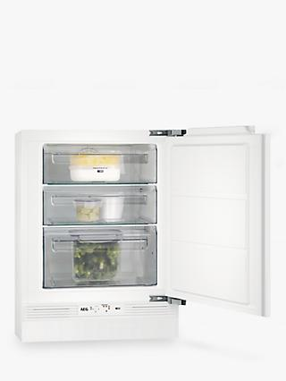 AEG ABE6821VNF Integrated Undercounter Freezer, A+ Energy Rating, 60cm Wide, White