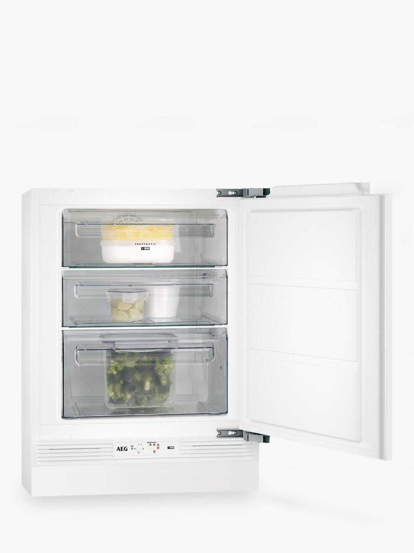 AEG AEG ABE6821VNF Undercounter Freezer, A+ Energy Rating, 60cm Wide, White