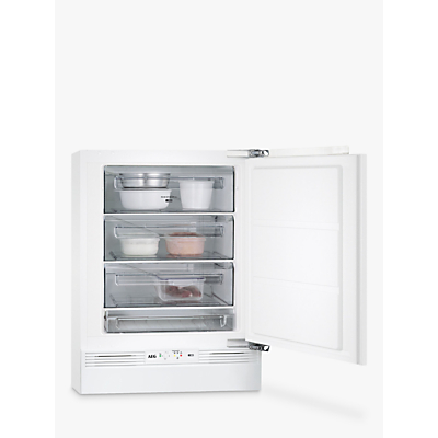 AEG ABE6822VAF Built-Under Freezer, A++ Energy Rating, 60cm Wide, White Review thumbnail