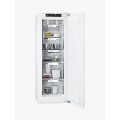 AEG ABE8122VNC Integrated Freezer, A++ Energy Rating, 56cm Wide, White Review thumbnail
