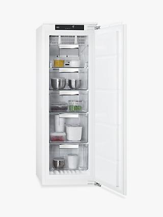 AEG ABE8122VNC Integrated Freezer, A++ Energy Rating, 56cm Wide, White