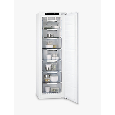 AEG ABS8182VNC Integrated Tall Freezer, A++ Energy Rating, 56cm Wide, White Review thumbnail