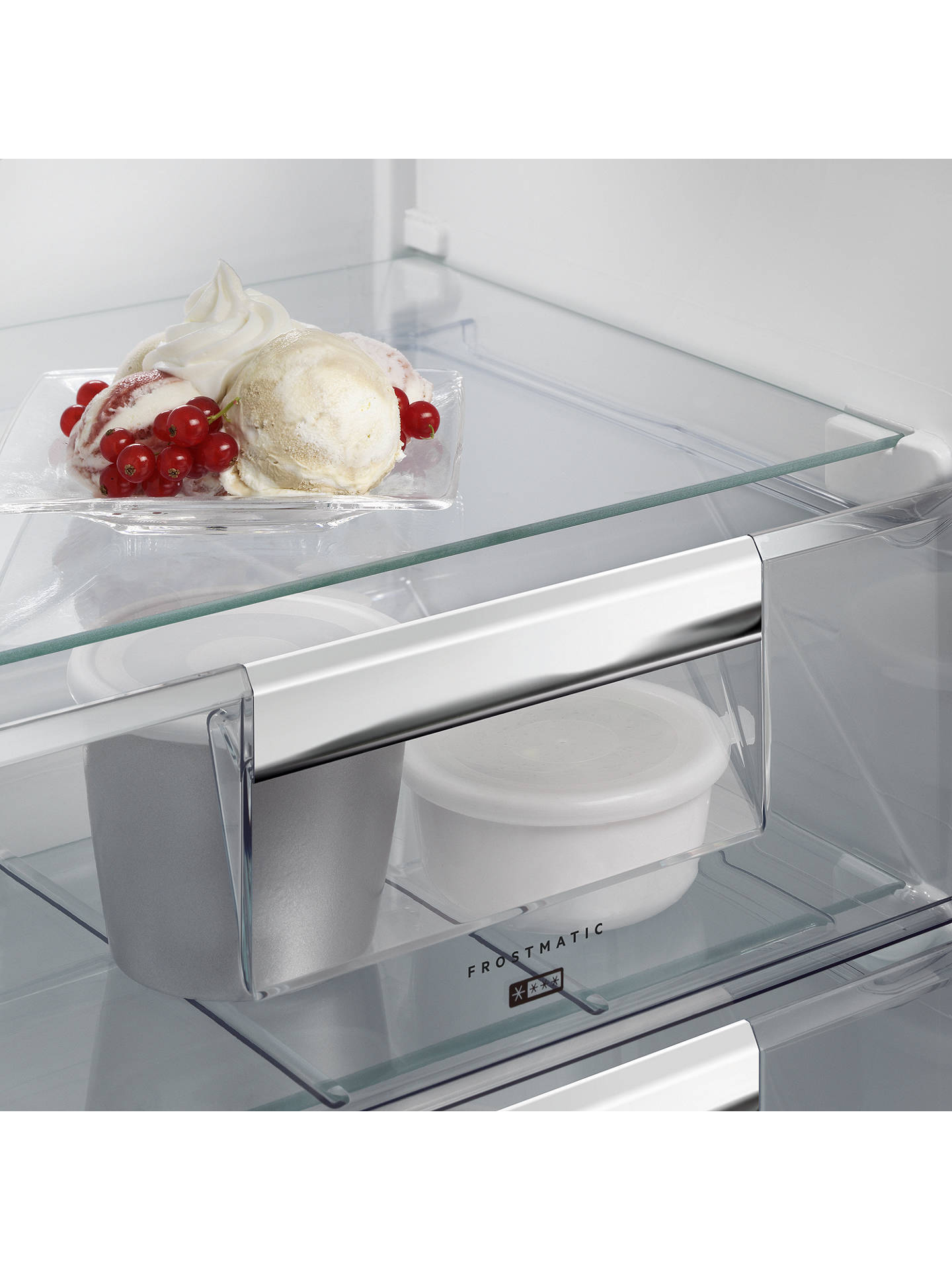 Buy AEG ABS8182VNC Integrated Tall Freezer, A++ Energy Rating, 56cm Wide, White Online at johnlewis.com