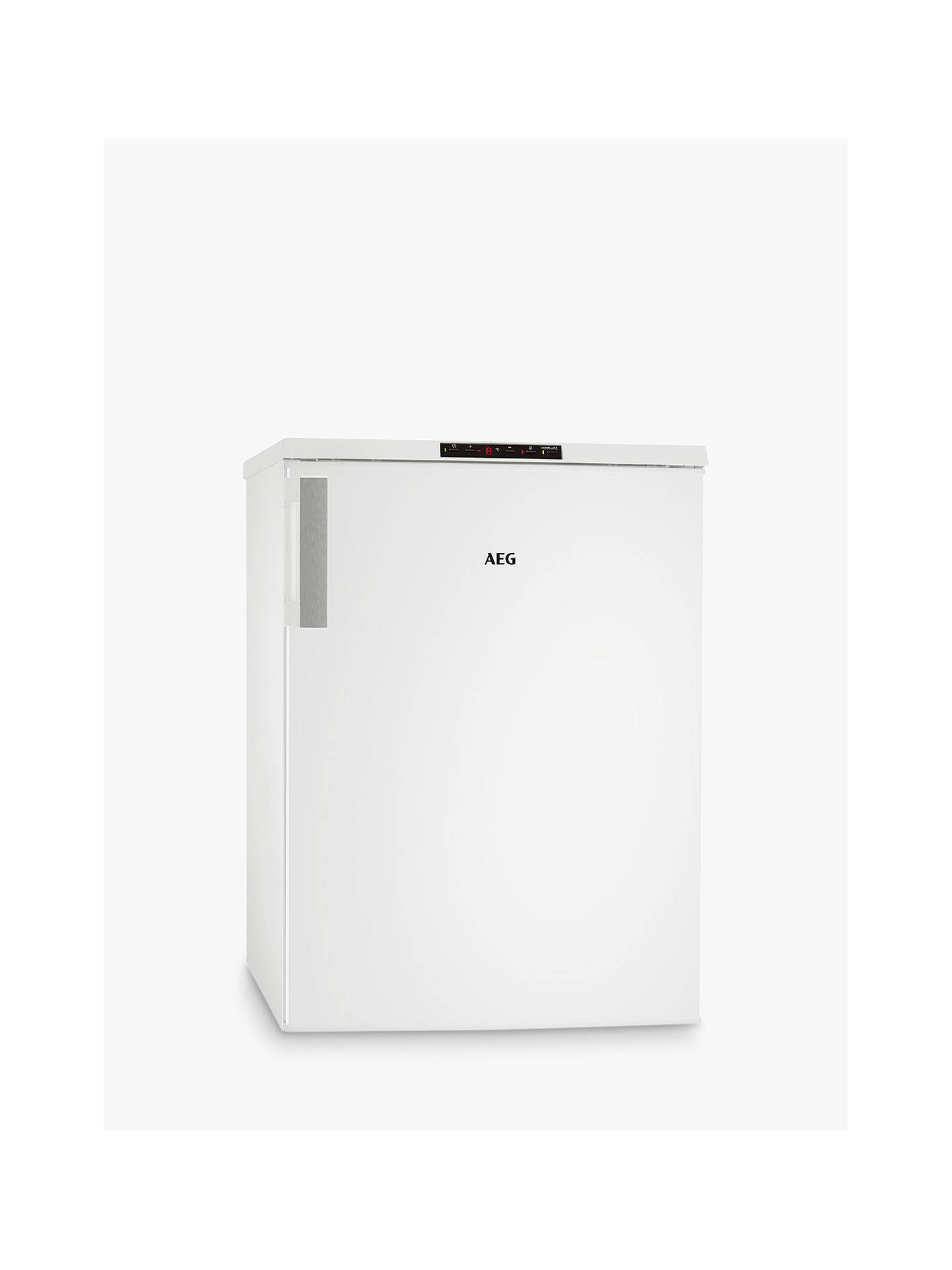 BuyAEG ATB8101VNW Freestanding Under Counter Freezer, A+ Energy Rating, 60cm Wide, White Online at johnlewis.com