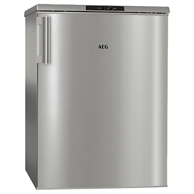 AEG ATB8112VAX Freestanding Undercounter Freezer, A++ Energy Rating, 60cm Wide, Silver Review thumbnail