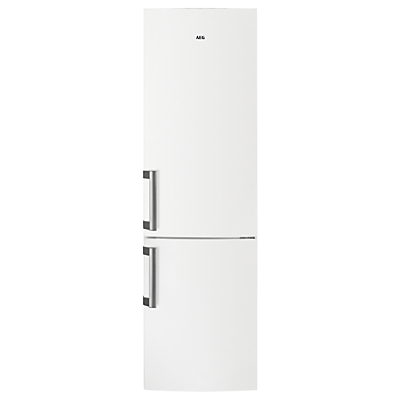 AEG RCB53725VW Freestanding CustomFlex Fridge Freezer, A++ Energy Rating, 60cm Wide, White