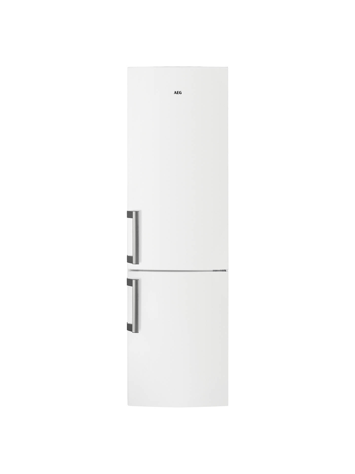 BuyAEG RCB53725VW Freestanding CustomFlex Fridge Freezer, A++ Energy Rating, 60cm Wide, White Online at johnlewis.com