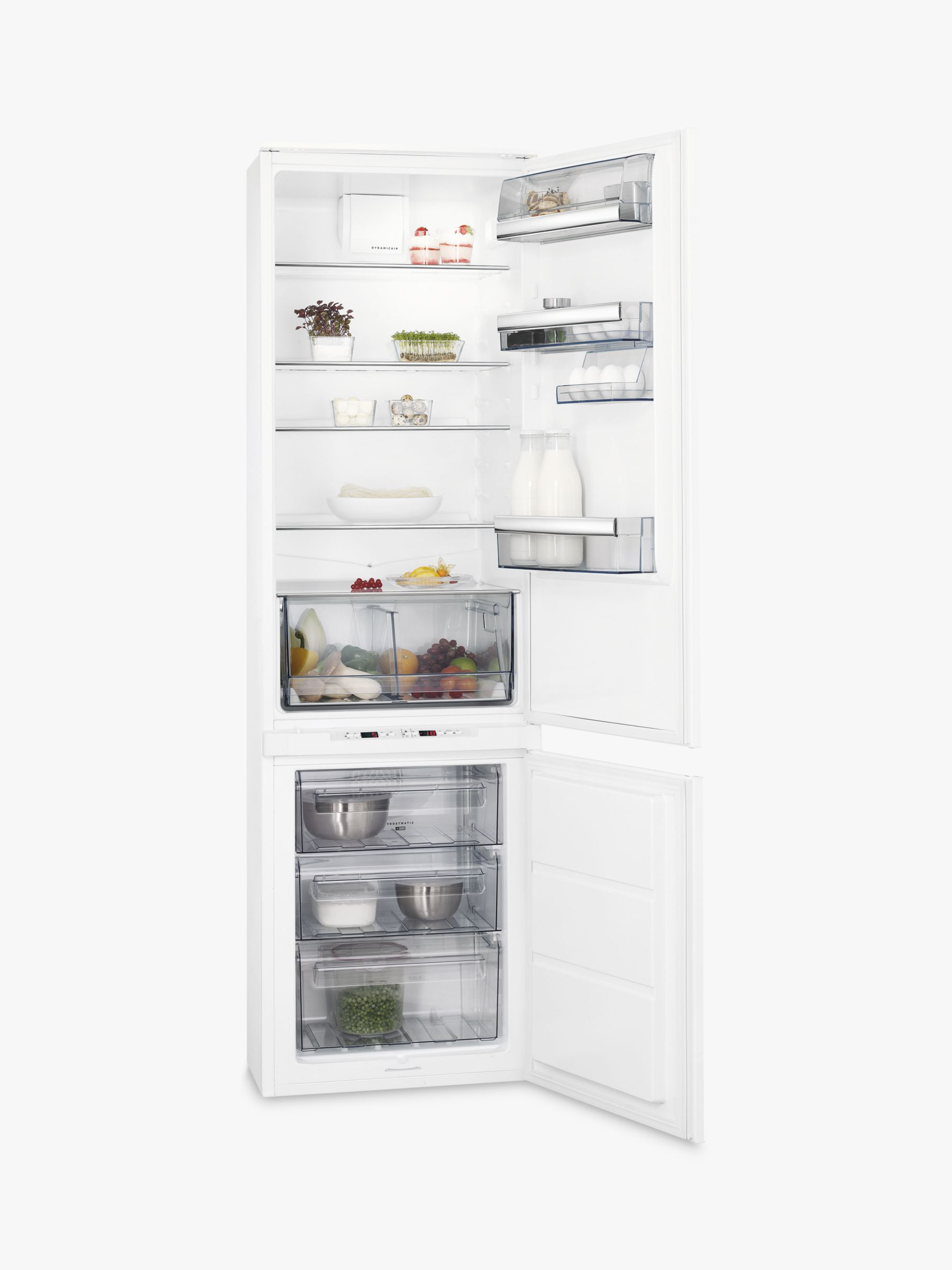 AEG AEG SCE8191VTS Integrated Fridge Freezer, A+ Energy Rating, 54cm Wide, White