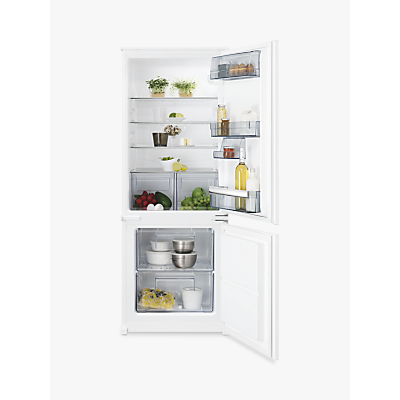 AEG SCB5142VLS Integrated Fridge Freezer, A++ Energy Rating, 54cm, White