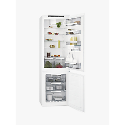 AEG SCE8181VTS Integrated Fridge Freezer, A+ Energy Rating, 54cm Wide, White
