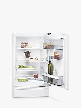 AEG SKB5821VAF Integrated Undercounter Fridge, A+ Energy Rating, 60cm Wide, White