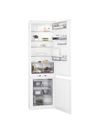 AEG SCE8192VTS Integrated Fridge Freezer, A++ Energy Rating, 54cm Wide, White