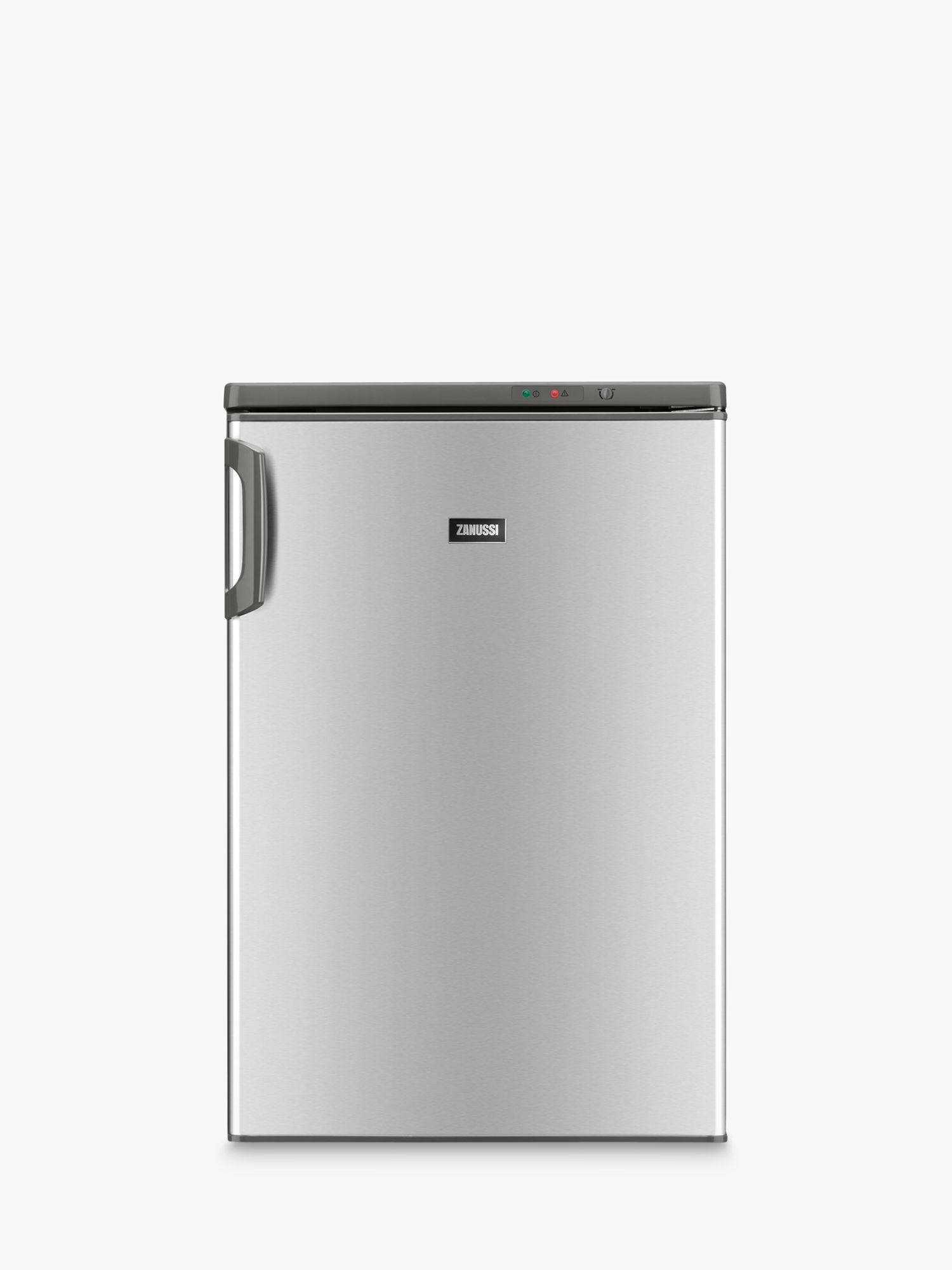 Zanussi Zanussi ZFT11105XV Freestanding Freezer, A+ Energy Rating, 55cm Wide, Stainless Steel Look