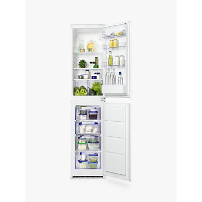 Zanussi ZBB27450SV Integrated Fridge Freezer, A+ Energy Rating, 54cm Wide