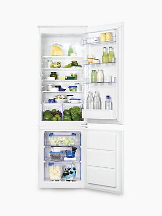 Zanussi ZBB28651SV Integrated Fridge Freezer, A+ Energy Rating, 54cm Wide