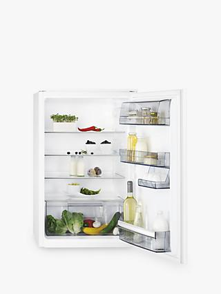 AEG SKE6881VAS Undercounter Integrated Fridge, A++ Energy Rating, 54cm Wide, White