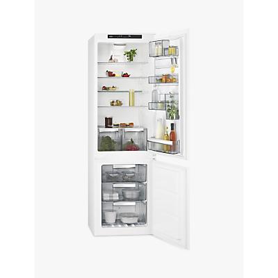 AEG SCE8182VTS Integrated Fridge Freezer, A++ Energy Rating, 54cm Wide, White