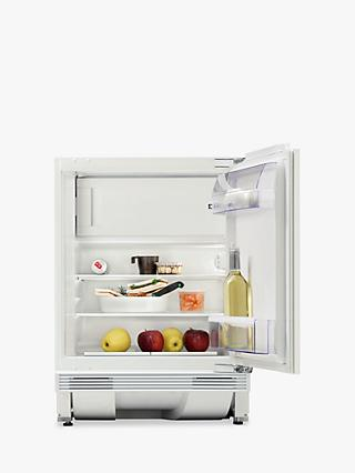 Zanussi ZQA12430DV Integrated Built Under Fridge with Freezer Compartment, A+Energy Rating, 60cm Wide