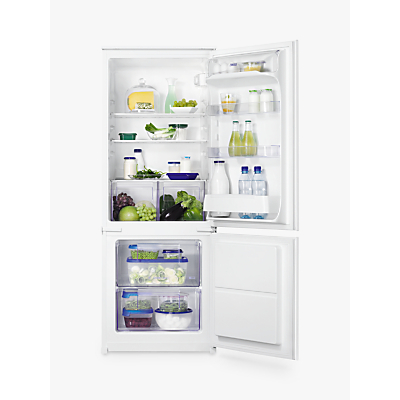 Zanussi ZBB24431SV Integrated Fridge Freezer, A+ Energy Rating, 54cm Wide