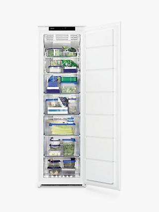 Zanussi ZBF22451SV Built-In Tall Freezer, A+ Energy Rating, 54cm Wide