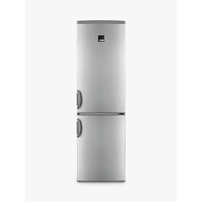 Zanussi ZRB38426XV Fridge Freezer, A++ Energy Rating, 60cm Wide, Grey