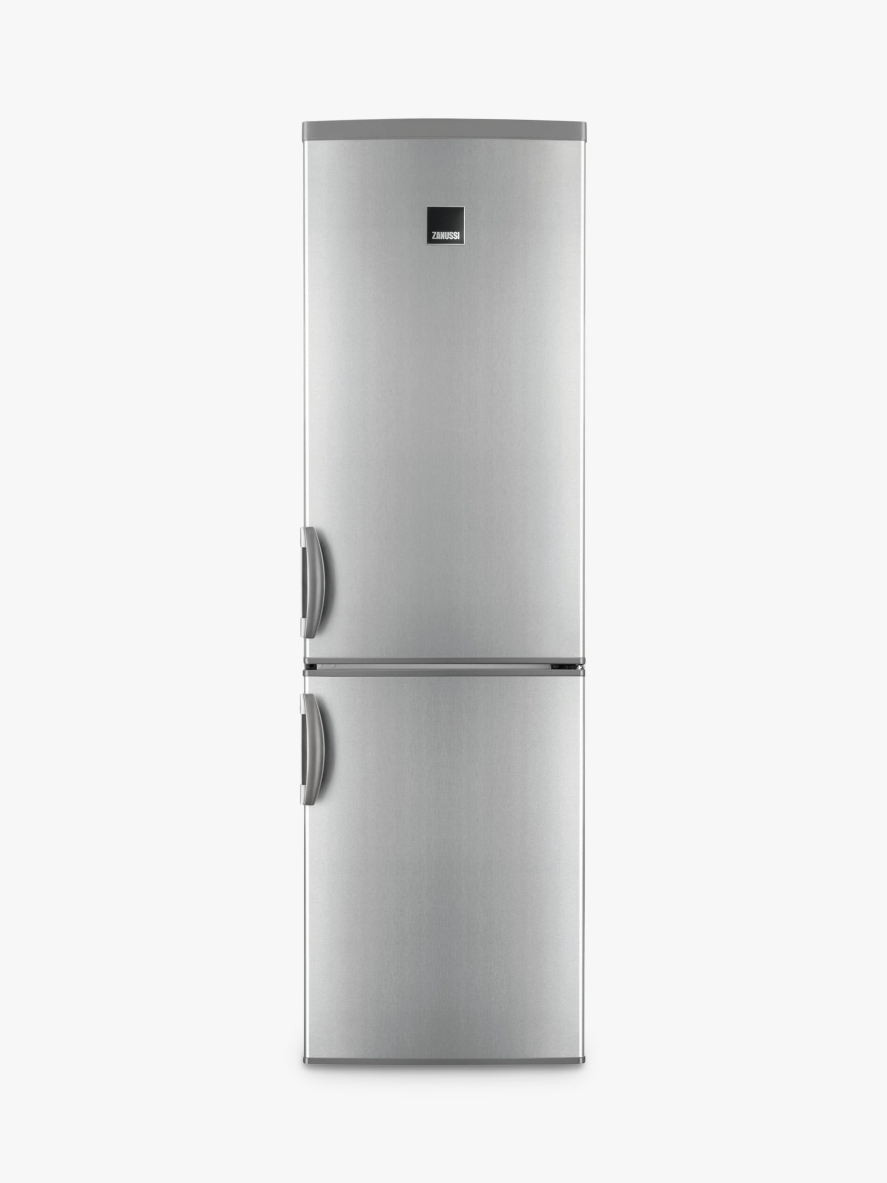Zanussi Zanussi ZRB38426XV Fridge Freezer, A++ Energy Rating, 60cm Wide, Grey