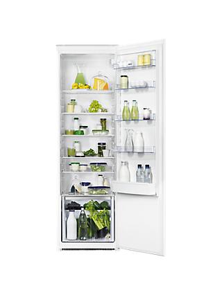 Zanussi ZBA32050SV Built-In Tall Larder Fridge, A+ Energy Rating, 54cm Wide