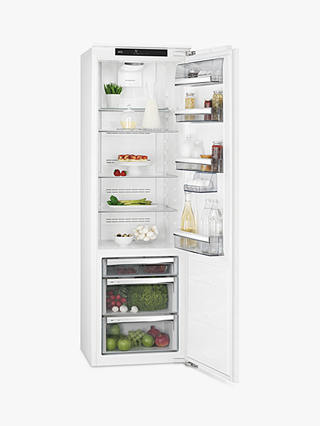 Buy AEG SKS8182VZC Integrated Fridge, A++ Energy Rating, 56cm Wide, White Online at johnlewis.com