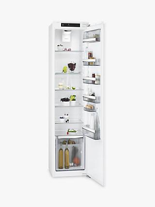 AEG SKS8182VDC Integrated Fridge, A++ Energy Rating, 56cm Wide, White