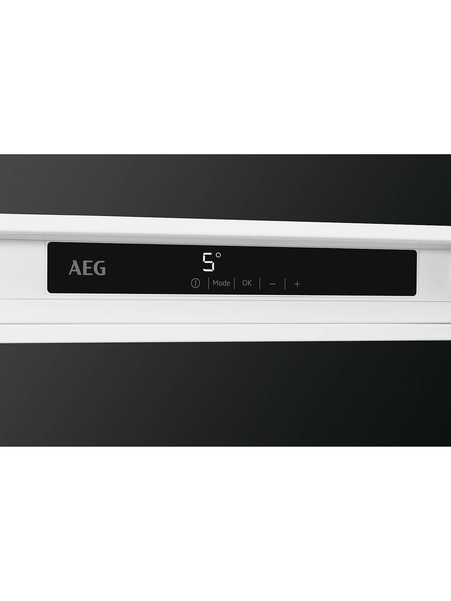 Buy AEG SKS8182VDC Integrated Fridge, A++ Energy Rating, 56cm Wide, White Online at johnlewis.com