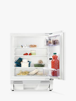 Zanussi ZQA14031DV integrated Built Under Larder Fridge, A+ Energy Rating, 60cm Wide