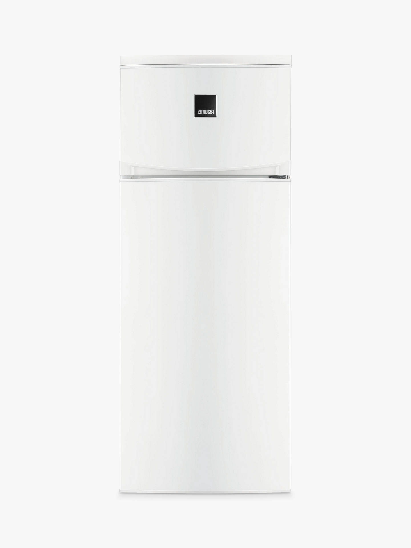 Buy Zanussi ZRT23103WV Freestanding Fridge Freezer, A+ Energy Rating, 55cm Wide, White Online at johnlewis.com