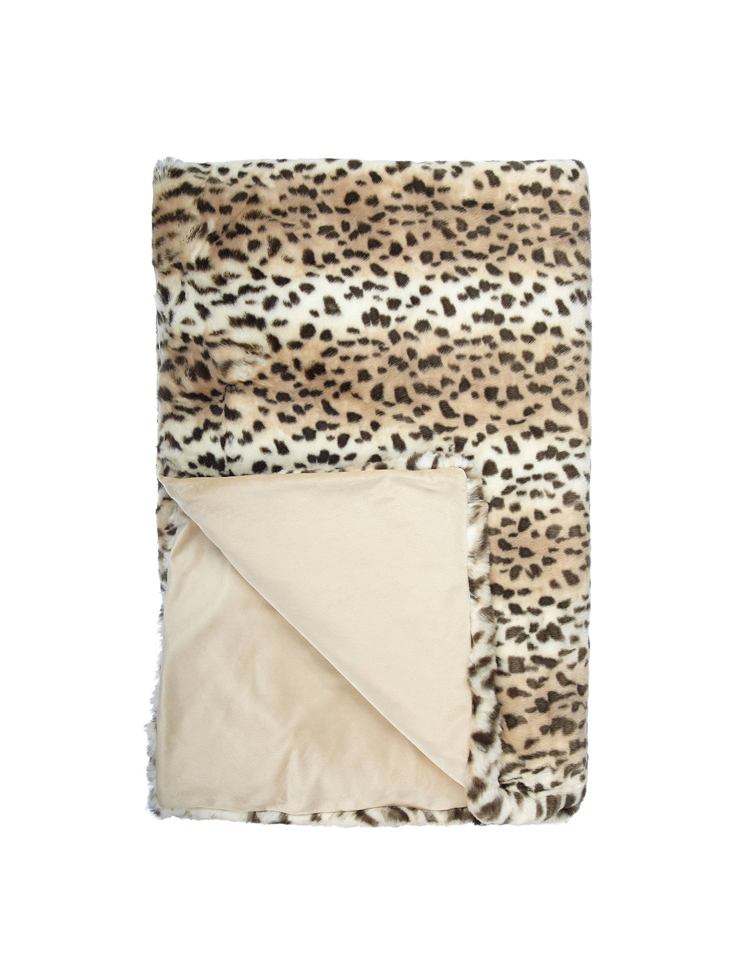 john lewis partners faux fur throw at john lewis partners. Black Bedroom Furniture Sets. Home Design Ideas