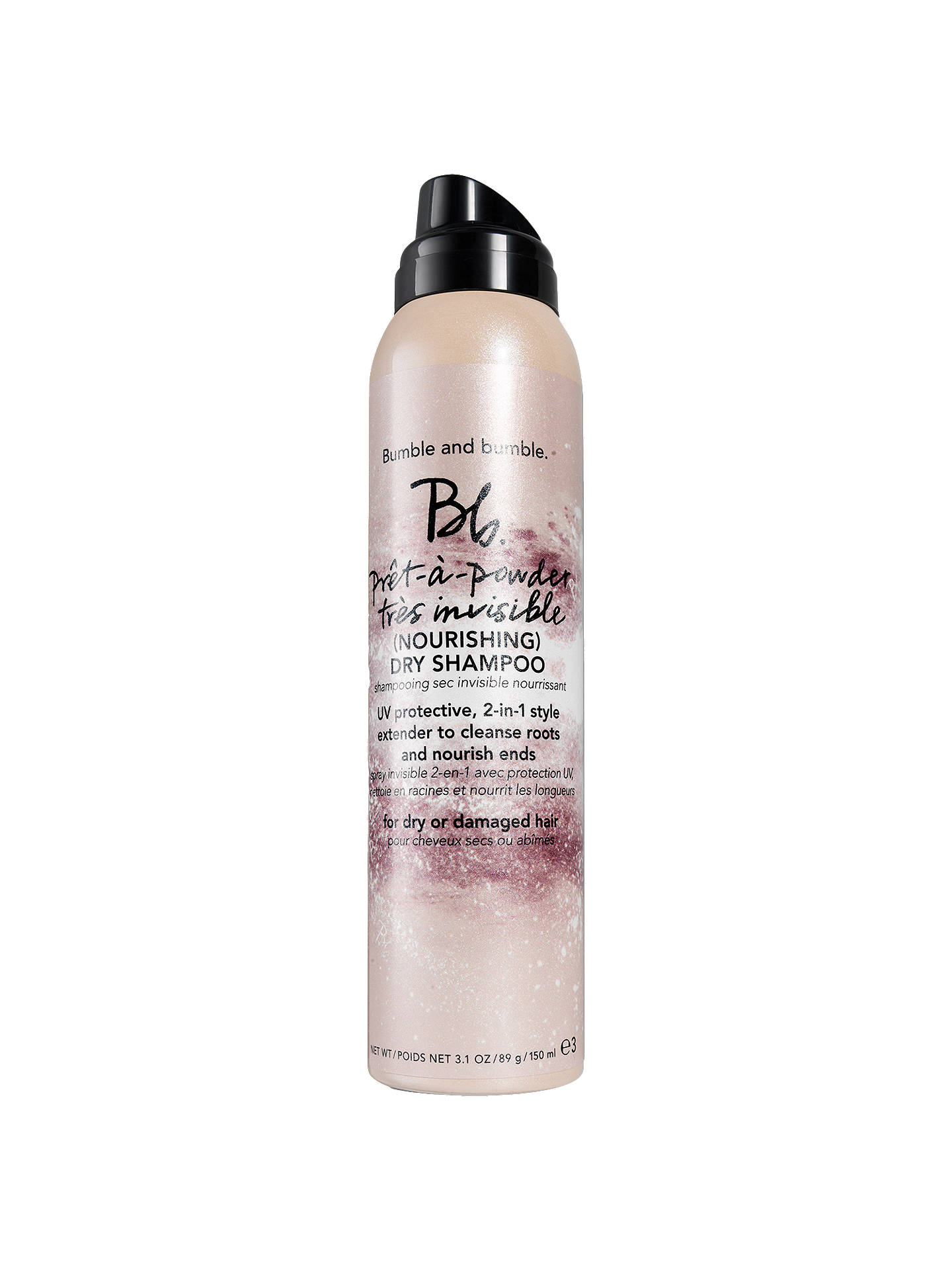 BuyBumble and bumble Pret A Powder Nourishing Dry Shampoo, 150ml Online at johnlewis.com