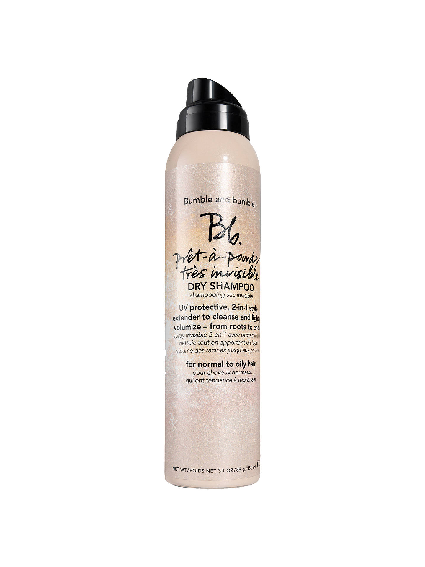 BuyBumble and bumble Pret A Powder Tres Invisible Dry Shampoo, 150ml Online at johnlewis.com