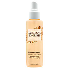 Buy American English Seaberry Dry Oil, 125ml Online at johnlewis.com